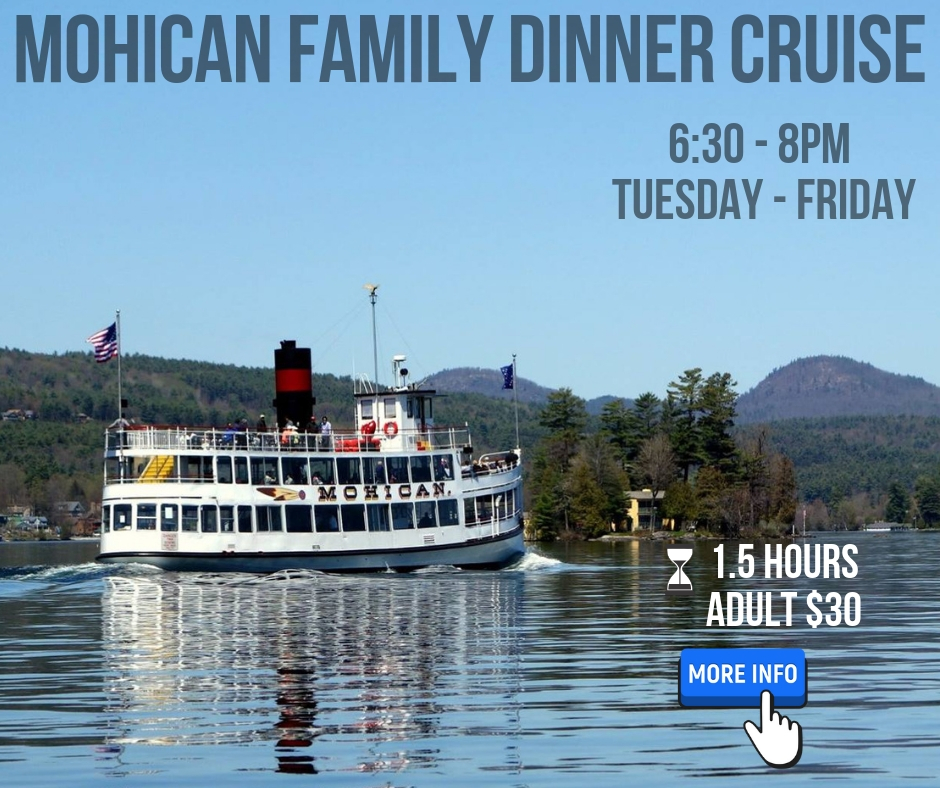 mohican family dinner cruise