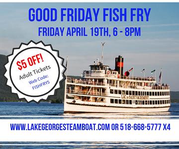 good friday fish fry $5 off