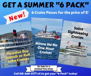 summer six pack ticket deal